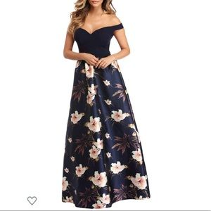 Windsor Floral Gown
